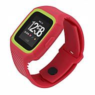 Недорогие Аксессуары для смарт-часов-Ремешок для часов для Fitbit Versa Fitbit Спортивный ремешок / Современная застежка силиконовый Повязка на запястье