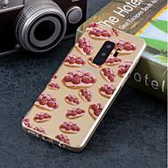 Недорогие Чехлы и кейсы для Galaxy S9-Кейс для Назначение SSamsung Galaxy S9 Plus / S9 IMD / С узором Кейс на заднюю панель Фрукты Мягкий ТПУ для S9 / S9 Plus / S8 Plus