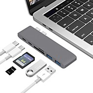 cheap Daily Deals-Type-C All-In-1 Adapter Macbook / MacBook Air / MacBook Pro for 0 cm For Aluminum