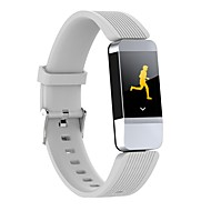 Indear YY-B1 Bracelet à puce Android iOS Bluetooth Imperméable Moniteur de Fréquence Cardiaque Mesure de la pression sanguine Ecran Tactile Calories brulées Podomètre Rappel d'Appel Moniteur