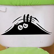 お買い得  インテリア用品-ステッカー&テープ 新デザイン / シンプル / ノンテープ・タイプ 普通 / コンテンポラリー PVC 1個 バスルームの装飾