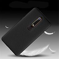 お買い得  携帯電話ケース-ケース 用途 Nokia Nokia 7 Plus / Nokia 6 2018 超薄型 バックカバー ソリッド ソフト TPU のために Nokia 9 / Nokia 8 / Nokia 7