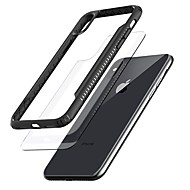 Недорогие Кейсы для iPhone 8 Plus-Кейс для Назначение Apple iPhone X / iPhone 8 Прозрачный Кейс на заднюю панель Однотонный Твердый ТПУ для iPhone X / iPhone 8 Pluss / iPhone 8
