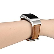 baratos Acessórios para Smartwatch-Pulseiras de Relógio para Fitbit Charge 2 Fitbit Pulseira de Couro Couro Legitimo Tira de Pulso