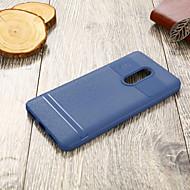 お買い得  携帯電話ケース-ケース 用途 Xiaomi Redmi 5 超薄型 バックカバー ソリッド ソフト TPU のために Xiaomi Redmi 5