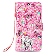 cheap -Case For Apple iPhone X / iPhone 8 Card Holder / with Stand / Flip Full Body Cases Dream Catcher Hard PU Leather for iPhone X / iPhone 8 Plus / iPhone 8