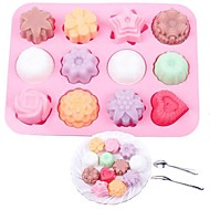 cheap -Bakeware tools Silicone Creative / DIY For Cookie / For Cupcake / For Chocolate Cake Molds / Cookie Cutters / Dessert Tools 1pc