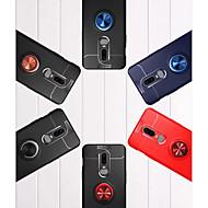 preiswerte Handyhüllen-Hülle Für OnePlus OnePlus 6 Ring - Haltevorrichtung Rückseite Solide Weich TPU für OnePlus 6