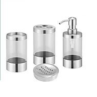 abordables Gadgets de Baño-Set de Accesorios de Baño Nuevo diseño / Múltiples Funciones Moderno Plásticos 4pcs - Baño Sencilla