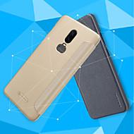 お買い得  携帯電話ケース-ケース 用途 OnePlus OnePlus 6 / OnePlus 5T フリップ / つや消し フルボディーケース ソリッド ハード PUレザー のために OnePlus 6 / One Plus 5 / OnePlus 5T