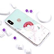 お買い得  携帯電話ケース-ケース 用途 Xiaomi Redmi Note 5 Pro / Redmi 5 Plus メッキ仕上げ / IMD / パターン バックカバー マーブル ソフト TPU のために Xiaomi Redmi Note 5 Pro / Redmi 5A / Xiaomi Redmi 5 Plus