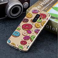 Недорогие Чехлы и кейсы для Galaxy S8-Кейс для Назначение SSamsung Galaxy S9 Plus / S9 IMD / С узором Кейс на заднюю панель Продукты питания Мягкий ТПУ для S9 / S9 Plus / S8 Plus