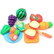 preiswerte Spielzeuge & Spiele-Tue so als ob du spielst Lebensmittel / Frucht Eltern-Kind-Interaktion Plastikschale Vorschule Geschenk 10 pcs