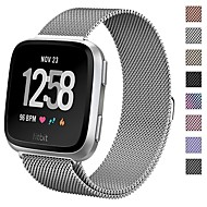 cheap -Watch Band for Fitbit Versa Apple Sport Band / Milanese Loop Metal Wrist Strap