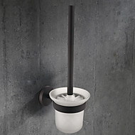お買い得  -トイレブラシホルダー 新デザイン 伝統風 ステンレス鋼 / 鉄 浴室 壁式
