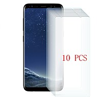 Недорогие Чехлы и кейсы для Galaxy S-Защитная плёнка для экрана для Samsung Galaxy S8 Plus Закаленное стекло 10 ед. Защитная пленка для экрана Уровень защиты 9H / Защита от царапин