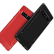 Недорогие Чехлы и кейсы для Galaxy Note-Кейс для Назначение SSamsung Galaxy Note 9 / Note 8 Защита от удара / Матовое Кейс на заднюю панель Однотонный Мягкий ТПУ для Note 9 / Note 8