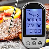 お買い得  キッチン&ダイニング-キッチンツール ABS 測定器具 / 肉ツール 測定器 / 多機能 / デジットLCDディスプレイ 気圧計 日常使用 / 多機能 / 肉のための 1個