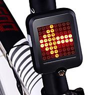 お買い得  フラッシュライト/ランタン/ライト-安全ライト / テールランプ LED 自転車用ライト サイクリング 防水, 新デザイン, ライトウェイト リチウム電池 80 lm レッド サイクリング