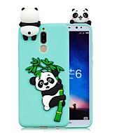お買い得  携帯電話ケース-ケース 用途 Huawei Mate 10 lite / Mate 10 DIY バックカバー パンダ ソフト TPU のために Mate 10 / Mate 10 lite