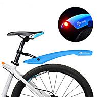 abordables Accesorios para Ciclismo y Bicicleta-Defensas Bike Bicicleta de Montaña Ajustable / Luces LED / Retráctil Plásticos - 2 pcs Rojo / Verde / Azul