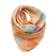 abordables Bufandas yEstolas-Mujer Lazo Cuadrado - Vacaciones Floral