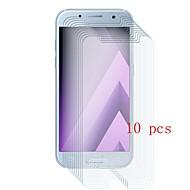 Недорогие Чехлы и кейсы для Galaxy A-Защитная плёнка для экрана для Samsung Galaxy A3 (2017) Закаленное стекло 10 ед. Защитная пленка для экрана Уровень защиты 9H / Защита от царапин