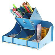 abordables Almacenamiento de escritorio-Madera Rectángulo Nuevo diseño / Cool Casa Organización, 1pc Organizadores de Escritorio
