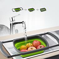 お買い得  キッチン用小物-キッチンツール PP 新デザイン / クリエイティブキッチンガジェット フルーツバスケット 多機能 / 野菜のための / 調理器具のための 1個