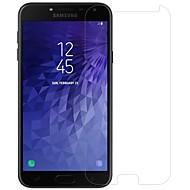 お買い得  Samsung 用スクリーンプロテクター-サムスン銀河のj4強化ガラス/ペット1 pcの前面のためのnillkinスクリーンプロテクター& カメラレンズプロテクター高精細(hd)/ 9h硬度/防爆