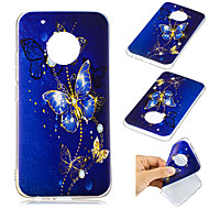 preiswerte Handyhüllen-Hülle Für Motorola G5 Plus Muster Rückseite Schmetterling Weich TPU für Moto G5 plus