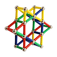 cheap Toy & Game-Magnetic Sticks 84 pcs Creative Transformable Parent-Child Interaction All Boys' Girls' Toy Gift