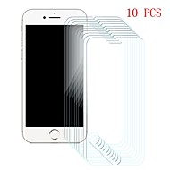 Недорогие Защитные плёнки для экрана iPhone-Защитная плёнка для экрана для Apple iPhone 6s / iPhone 6 Закаленное стекло 10 ед. Защитная пленка для экрана Уровень защиты 9H / Защита от царапин