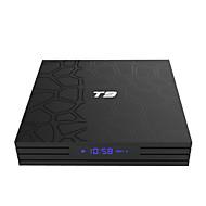 PULIERDE T9 TV Box Android 8.1 TV Box RK3328 4GB RAM 32GB ROM Octa Core New Design