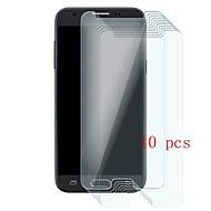 Недорогие Защитные пленки для Samsung-Защитная плёнка для экрана для Samsung Galaxy J3 Prime Закаленное стекло 10 ед. Защитная пленка для экрана Уровень защиты 9H / Защита от царапин