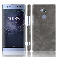 preiswerte Handyhüllen-Hülle Für Sony Xperia XA2 Ultra / Xperia XZ2 Premium Mattiert Rückseite Solide Hart PU-Leder für Xperia XZ2 / Sony Xperia XZ2 Premium / Xperia XA2 Ultra