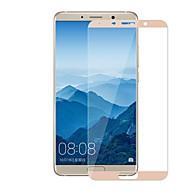 お買い得  スクリーンプロテクター-スクリーンプロテクター のために Huawei Mate 10 強化ガラス 1枚 スクリーンプロテクター 硬度9H / 2.5Dラウンドカットエッジ / 傷防止