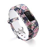Недорогие Аксессуары для смарт-часов-Ремешок для часов для Vivofit 3 Garmin Спортивный ремешок силиконовый Повязка на запястье