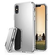 Недорогие Кейсы для iPhone 8-Кейс для Назначение Apple iPhone X / iPhone 8 Plus Покрытие / Зеркальная поверхность / Ультратонкий Кейс на заднюю панель Однотонный Твердый Акрил для iPhone X / iPhone 8 Pluss / iPhone 8