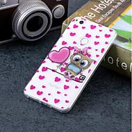 お買い得  携帯電話ケース-ケース 用途 Huawei P20 / P10 Lite IMD / パターン バックカバー フクロウ ソフト TPU のために Huawei P20 / P10 Lite / P10