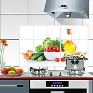 abordables Herramientas especiales-Cocina Limpiando suministros CLORURO DE POLIVINILO Calcomanías a Prueba de Aceite Tratamiento Anti Manchas / Impermeable 1pc