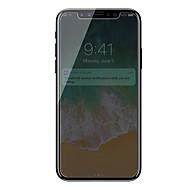 Недорогие Защитные плёнки для экрана iPhone-Защитная плёнка для экрана для Apple iPhone X Закаленное стекло 1 ед. Защитная пленка для экрана Anti-Spy