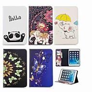 abordables Carcasas y Fundas para iPad-Funda Para Apple iPad mini 4 / iPad Mini 3/2/1 Cartera / Soporte de Coche / con Soporte Funda de Cuerpo Entero Elefante Dura Cuero de PU para iPad Mini 3/2/1 / iPad Mini 4