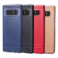 Недорогие Чехлы и кейсы для Galaxy Note 8-Кейс для Назначение SSamsung Galaxy Note 8 Ультратонкий Кейс на заднюю панель Однотонный Мягкий ТПУ для Note 8