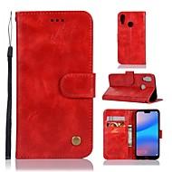 preiswerte Handyhüllen-Hülle Für Huawei P20 / P20 Pro Geldbeutel / Kreditkartenfächer / mit Halterung Ganzkörper-Gehäuse Solide Hart PU-Leder für Huawei P20 / Huawei P20 Pro / Huawei P20 lite