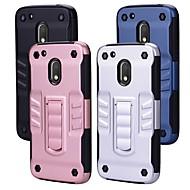 preiswerte Handyhüllen-Hülle Für Motorola G4 Plus mit Halterung Rückseite Solide Hart PC für Moto G4 plus