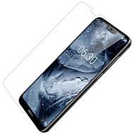 お買い得  スクリーンプロテクター-スクリーンプロテクター のために Nokia Nokia X6 PET 1枚 フロント&カメラレンズプロテクター ハイディフィニション(HD) / 超薄型 / 傷防止