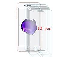 voordelige iPhone screenprotectors-Screenprotector voor Apple iPhone 8 Gehard Glas 10 stuks Voorkant screenprotector 9H-hardheid / Krasbestendig