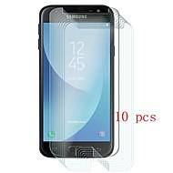 Недорогие Защитные пленки для Samsung-Защитная плёнка для экрана для Samsung Galaxy J3 (2017) Закаленное стекло 10 ед. Защитная пленка для экрана Уровень защиты 9H / Защита от царапин