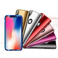 Недорогие Кейсы для iPhone 8 Plus-Кейс для Назначение Apple iPhone X / iPhone 8 Защита от удара / Покрытие Чехол Однотонный Твердый ПК для iPhone X / iPhone 8 Pluss / iPhone 8